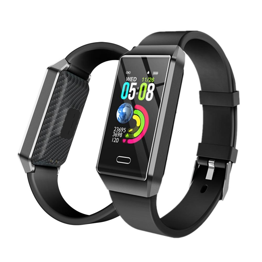 NEW OGEDA Smart Watch X9 IP67 Smart Bracelet Band Heart rate Monitor ECG Blood Pressure Fitness Tracker Men Women Wrisatband Smart Watches     - title=