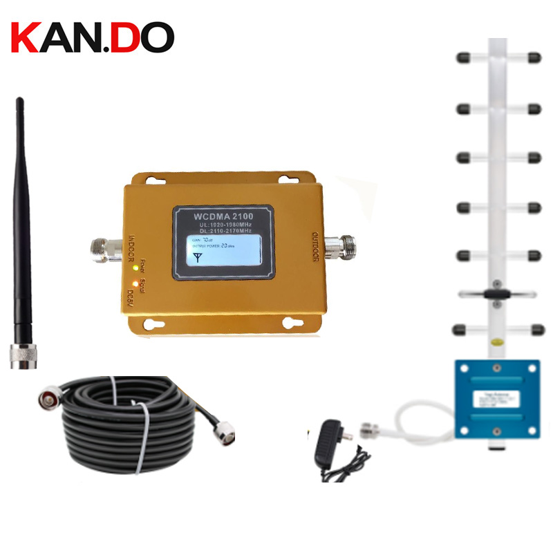 3G Cellular Amplifier WCDMA 2100MHz 3G Mobile Signal Booster 3G Signal Repeater For MTS Beeline Vodafone EU Assia Africa RU