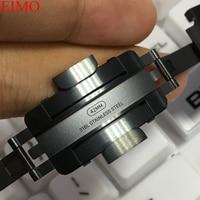 Ссылка Браслет ремешок для Apple watch 4 3 iwatch 42 мм 38 44 40 оригинальный натуральная нержавеющая сталь gen.6