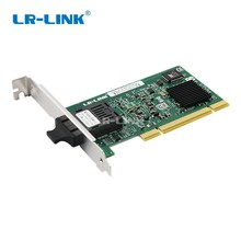 LR LINK 7210PF SC LX PCI gigabit Ethernet Network Card 1000M LX Fiber Optical Desktop Adapter PC Computer Intel 82545 SMF Nic