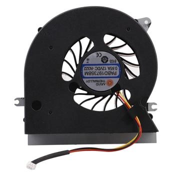 MSI GT72 Fan CPU GPU Cooling Fan for MSI GT72 GT72S GT72VR 6QD 6RD MS-1781 MS-17 Fan Cooler PABD19735BM 3Pin 0.65A 12VDC