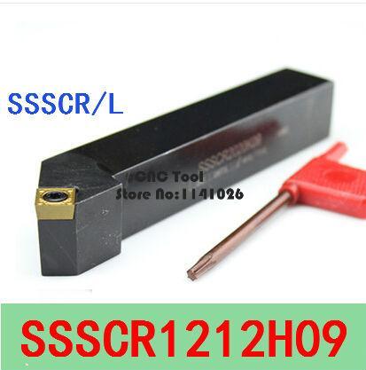 1p SSSCL2020K09 CNC Lathe External Turning Tool Holder For SCMT09T3 Insert