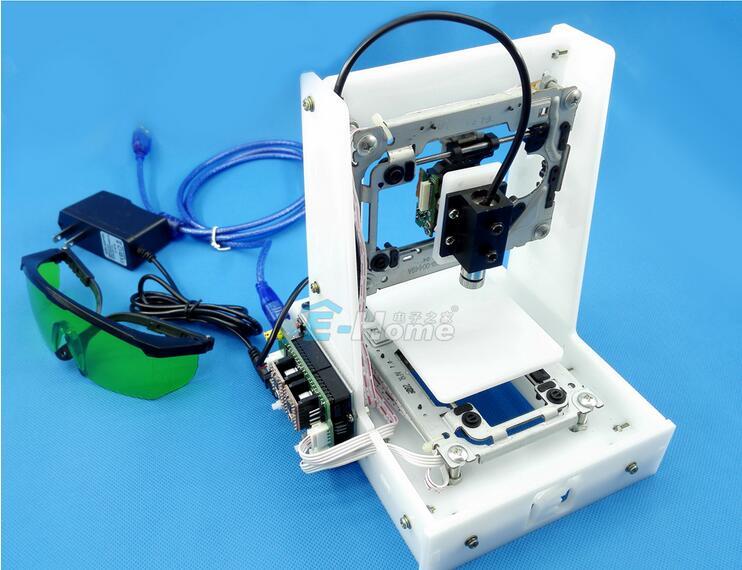 Laser engraving machine, DIY laser engraving machine, CD driver engraving machine, mini mini CNC laser marking machine