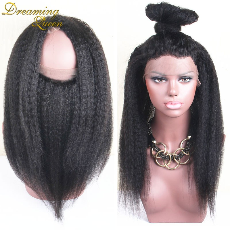 kinky straight 360 Lace Frontal Closure 4 (2)