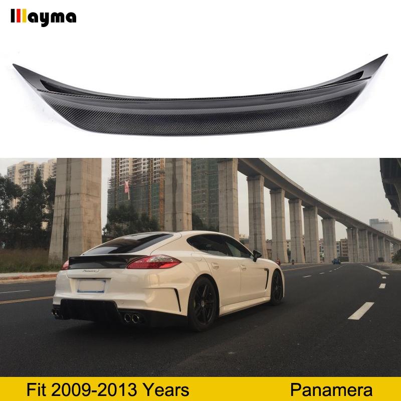 Vorsteinernr style Carbon Fiber rear trunk spoiler For Porsche Panamera 4 S 3 6L 2009 2013