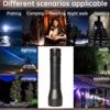 8000 Lums LED UV Flashlight UV Light L2/T6 white light LED Torch Light 5Mode Zoomable 395nm Blacklight by 18650 Battery 8