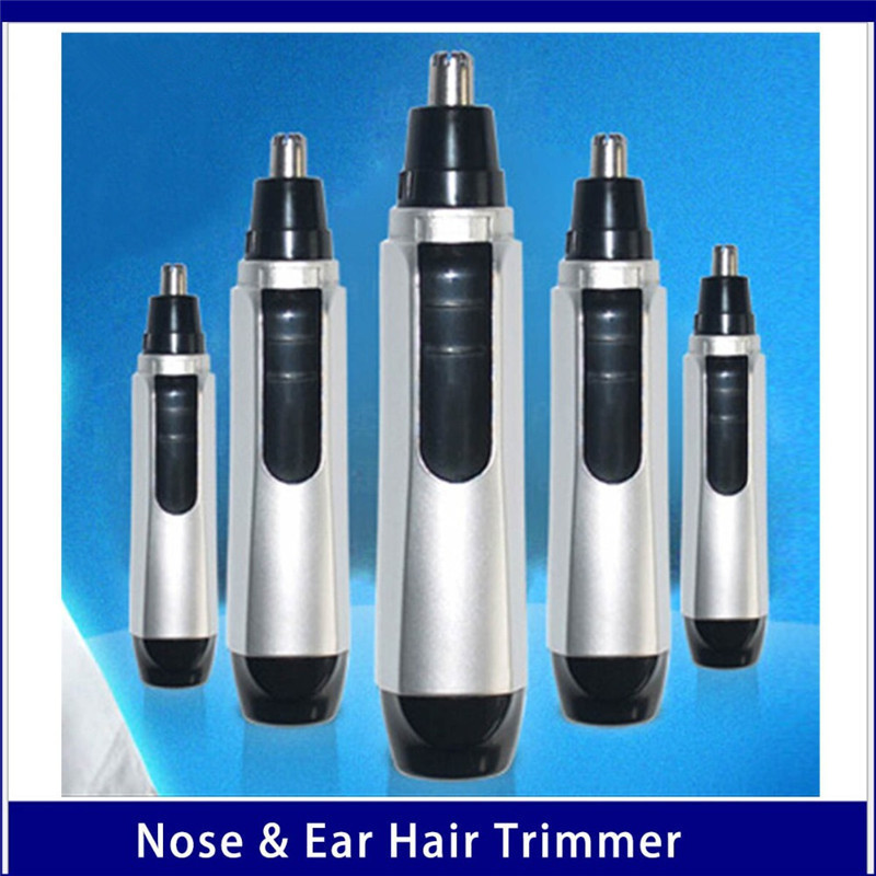 New Arrival Stainless Steel Nose Trimmer Electric Nose Ear Trimmer Ear Shaver Hair Clip Nose Ear Cleaner Day Battery Powered
