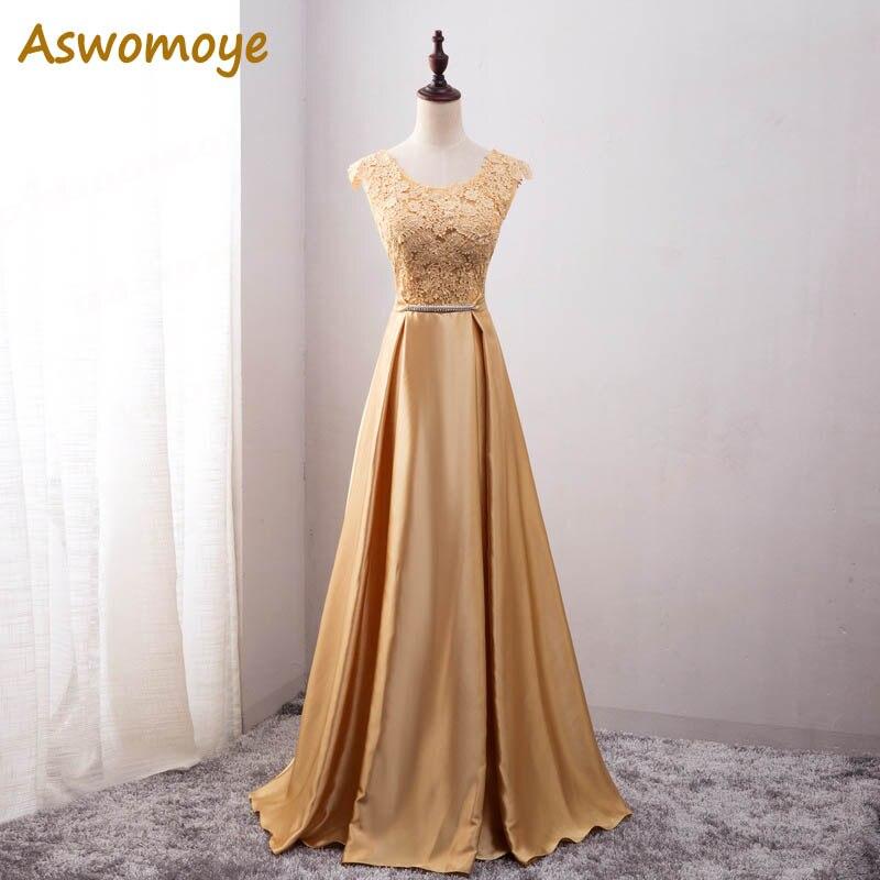 Элегантное вечернее платье с длинным аппликации платье для банкета, вечеринки Потрясающие сатиновое платье для выпускного вечера; Robe De Soiree vestido de festa