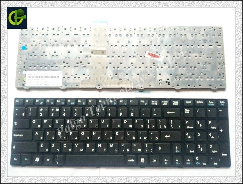 Russian Keyboard For MSI GP60 GP70 CR70 V123322IK1 V139922CK1 V123322CK1 SIN-3ERU2K1 S1N-3ERU2F1 S1N-3ERU2K1 black RU