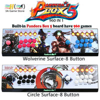 2 Players Pandora S Box 5 960 In 1 Console Red Circle Wolverine Surface 8 Button