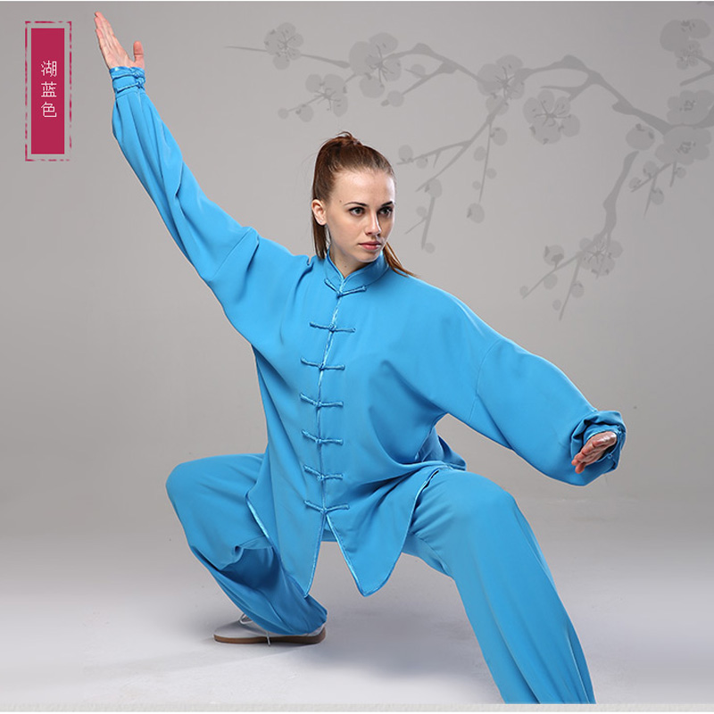 Wu Shu Cotton Uniform Warm Autumn Winter Men Women Kung Fu Clothes Set