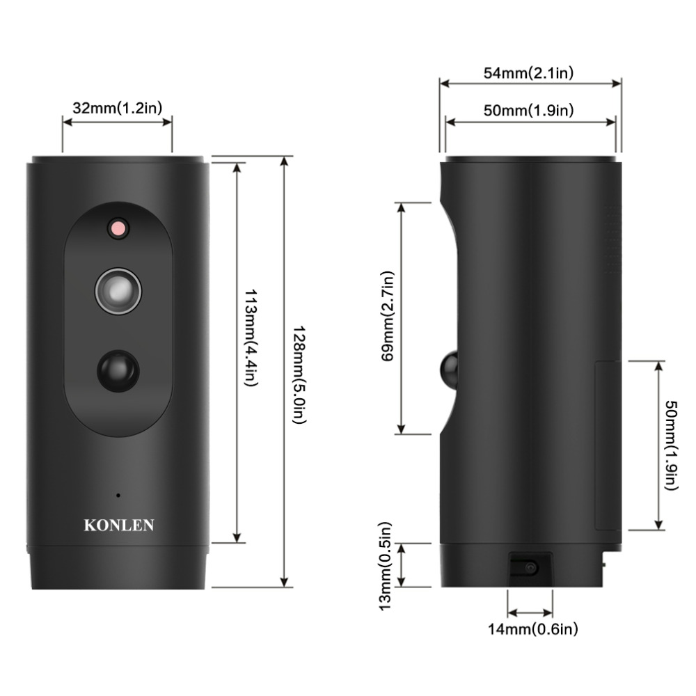 Portable Battery Powered IP camera 3