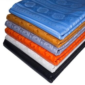 Guinea Brocade New Color Shadda Bazin Riche Fabric Damask 100% Cotton African Garment Fabric Germany Quality FEITEX Tissu