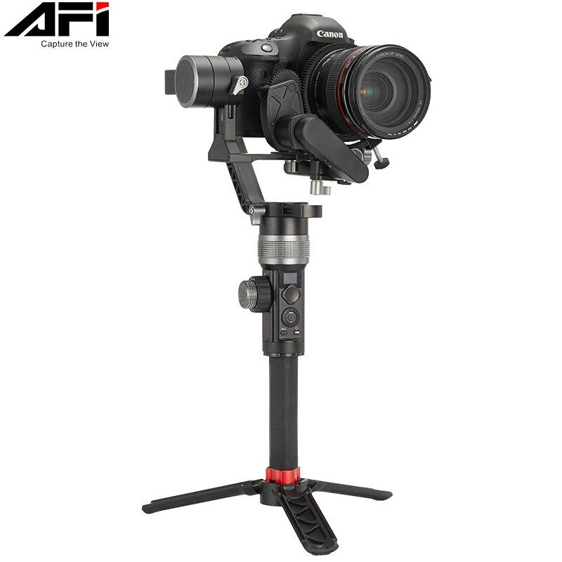Stabilisateur de cardan Pour Caméra DSLR Poche Cardans 3-Axe Vidéo Mobile Pour Tous Les Modèles De DSLR Avec Servo Follow Focus AFI D3