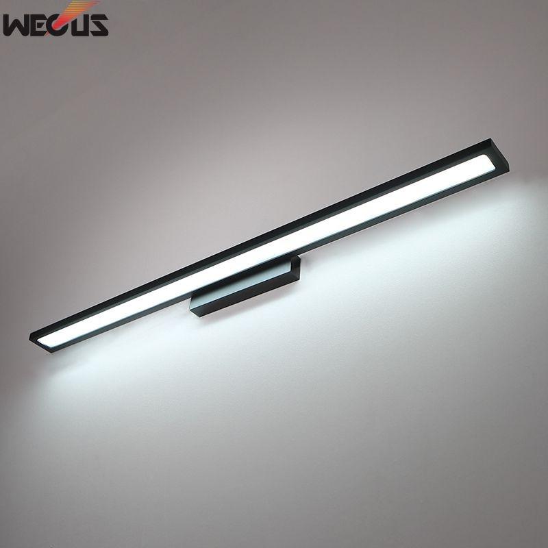 Long style 90 cm (24 W), brouillard d'eau avant les lumières de miroir, lumières de salle de bains