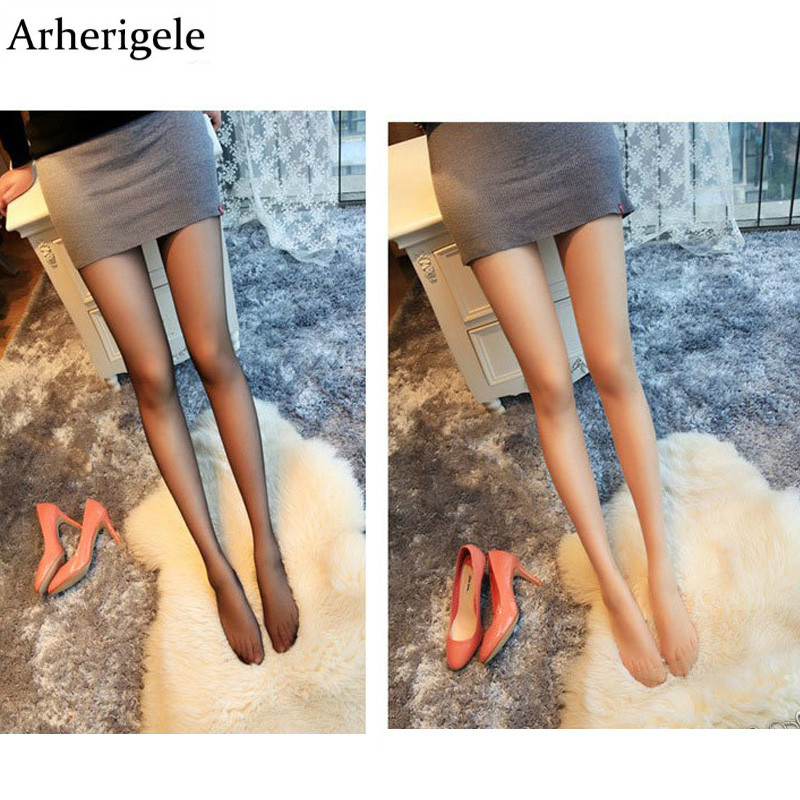 Arherigele Summer Nylon Women Tights Pearl Glitter Velvet Sexy Silk Stockings for Woman Pantyhose Female Collant Hosiery Medias
