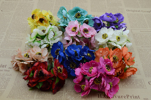 4cm 6pcsbunch 5 bunch artificial flowers cherry plum silk flower 4cm 6pcsbunch 5 bunch artificial flowers cherry plum silk flower garlands rattan material diy accessories decorative flower in artificial dried flowers mightylinksfo