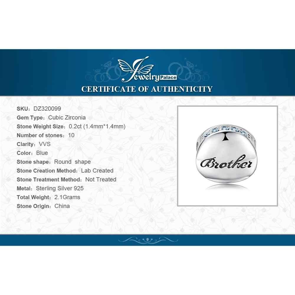 Jewelrypalace família 925 prata esterlina grânulos encantos prata 925 original para pulseira de prata 925 grânulos originais jóias fazendo
