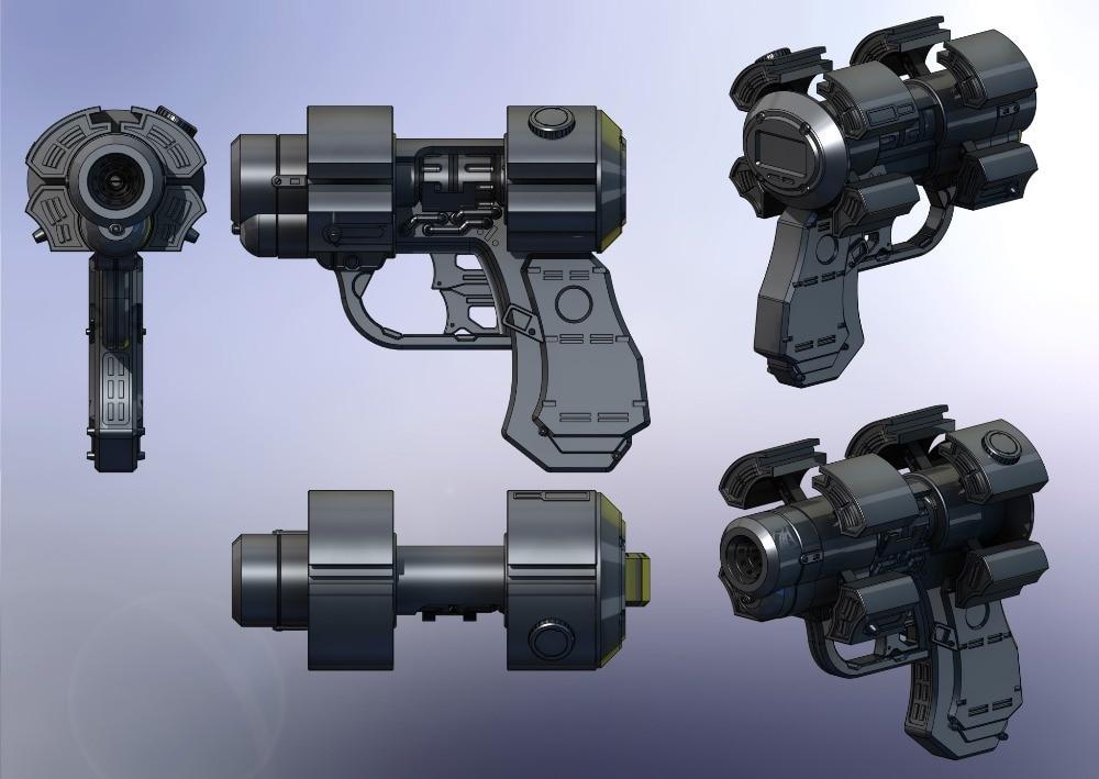 Gantz X Gun Model Scale 1: 1 DIY Handmade Paper Toy Casual Puzzle Decoration