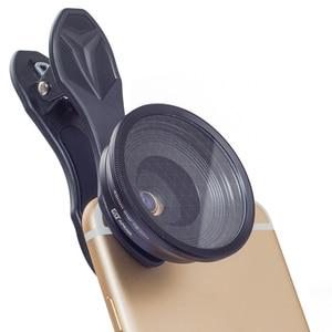 Image 4 - APEXEL Universal 2 in 1 20X Makro Objektiv Professionelle Handy Kamera Linsen mit stern filter für iPhone Samsung Xiaomi redmi