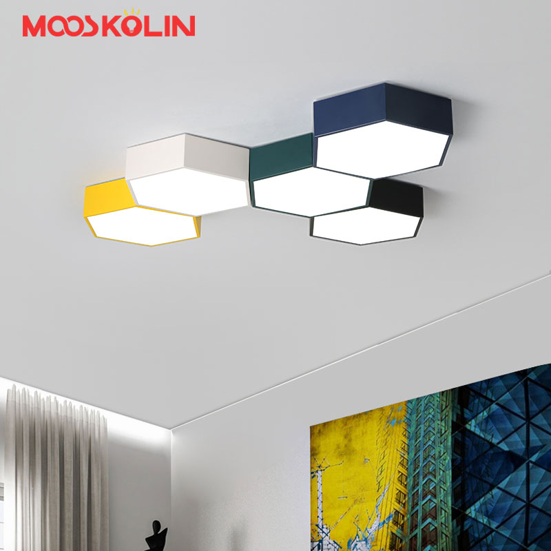 Modern LED Ceiling Lights luminaria led teto Modern Colorful Ceiling lamp for living room kids room Kitchen Home Light Fixtures