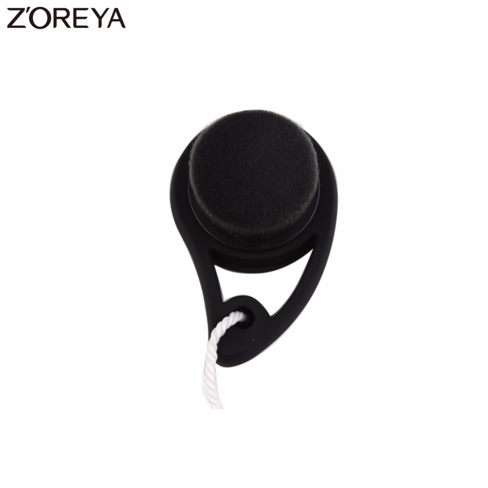 ZOREYA Brand Soft Hair Face Nylon Wash Brushes  Facial Cleansing make up Brush Massage Pore Cleanser Face Beauty Skin Care sonic cleansing brush cleanser wash your face wash your face massage instrument deep pores clean cleanser electric wash brush