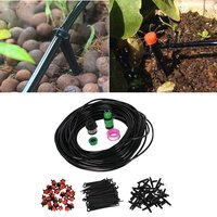 Garden Tools 25m Automatic Micro Drip Irrigation System Hose Smart Controller Suits DIY Plant Garden Kits