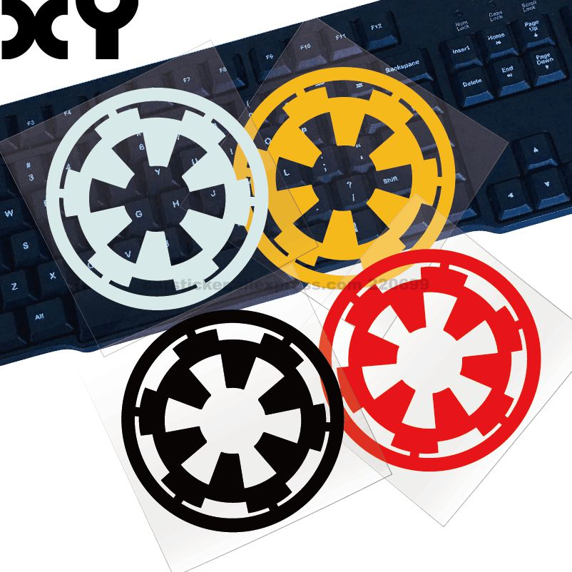 Star Wars Car Sticker Automobile Decals Truck Window Sticker Cut Vinyl Decal Bumper Sticker Dropshiping Motorcycle Stickers 2pc claw scratches body side graphic vinyl decals for ford ranger2012 2015 truck decals badges detailing sticker