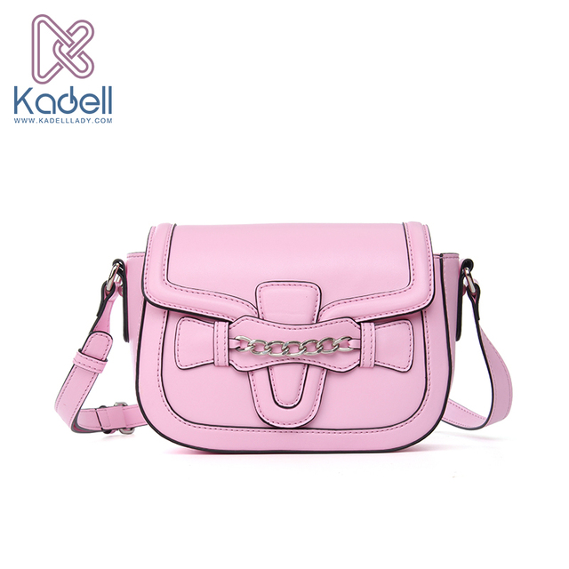 Kadell Brand 2017 New Fashion Pure Color Women Messenger Bags Shoulder Crossbody Women Clutch Purse Bag Popular saddle bags