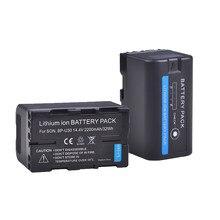 Batterie de caméra BP-U30 BPU30 BP U30 2200mAH, 2 pièces, pour Sony BP U30 U60 U90 XDCAM EX PMW 100 150 160 200 PMW EX1 EX3 F3 F3K PMW-F3L