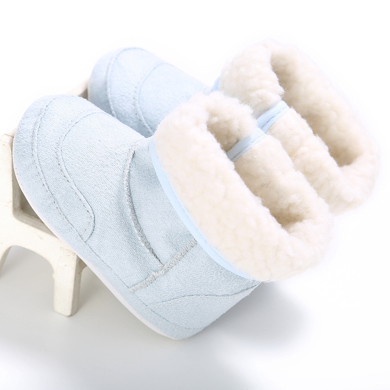 Winter Baby Shoes Warm Baby Boys Girls Shoes Soft Plush Booties Infant Anti Slip Snow Boots Shoes For Kids