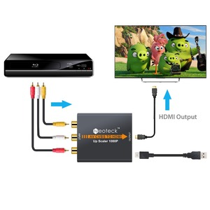 Image 4 - Neoteck 1080P 3RCA AV CVBS Composite To HDMI Converter for TV PC PS3 STB Xbox VHS VCR NTSC 720P/1080P AV to HDMI Adapter Scaler