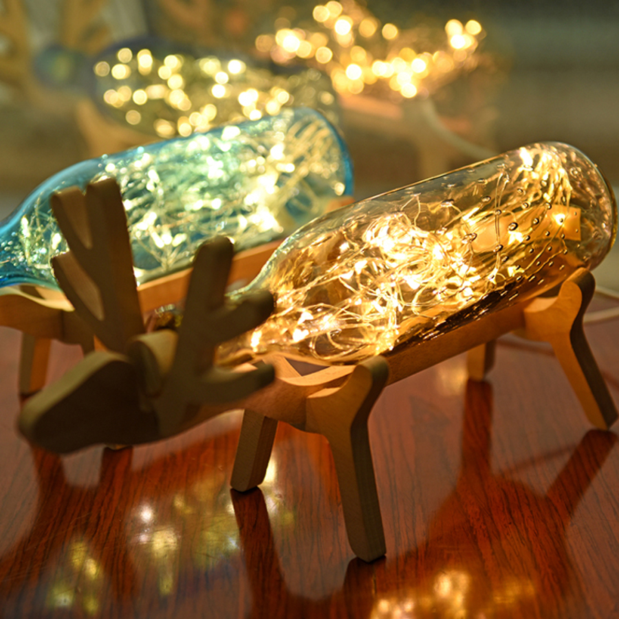 Luzes da Noite casa Material : Solid Wood