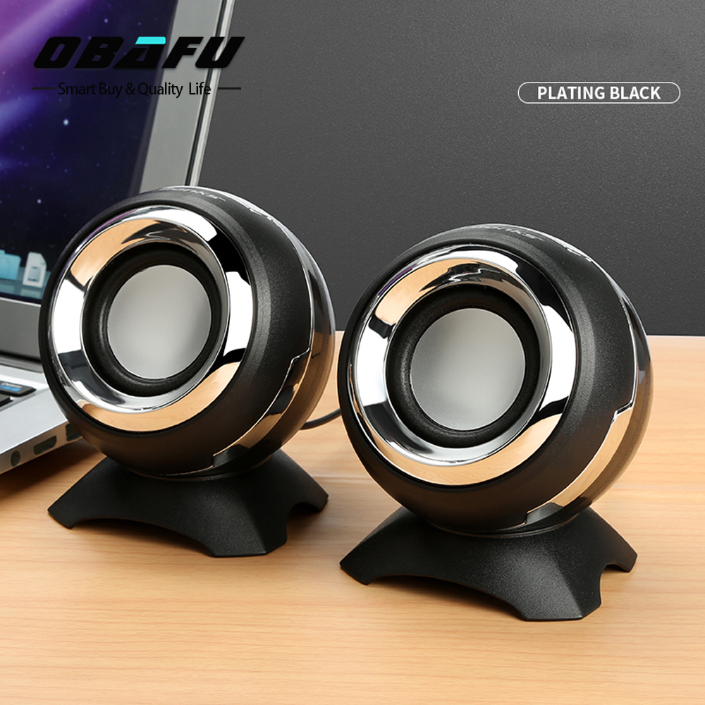 Mini Portable Clipon USB Stereo Speakers