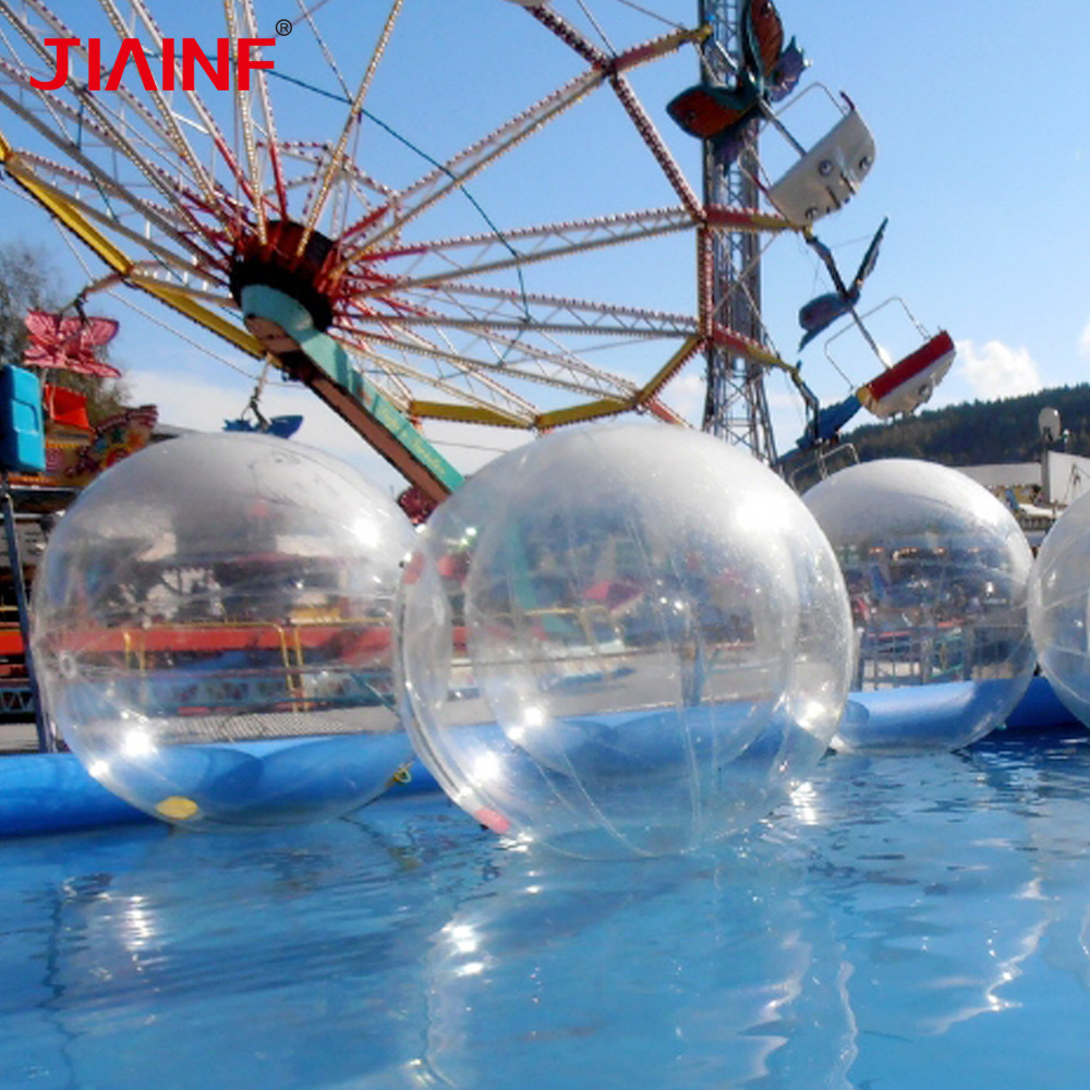PVC Water Walking Ball Inflatable Dance Shows Ball with Normal Import Zip for Children Adult Family