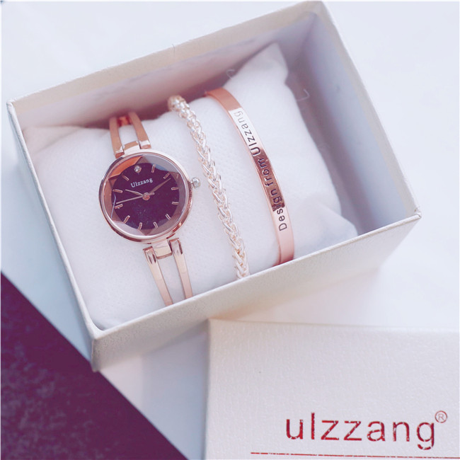 Student trend with box gift casual fashion quartz female watchStudent trend with box gift casual fashion quartz female watch