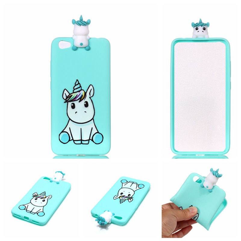 For Xiaomi Redmi Note 5A Case 3D Soft Silicone Cover Cartoon Phone Cover Shell Skin For Xiaomi Redmi Note 5A 5 5 quot Fundas Coque in Half wrapped Cases from Cellphones amp Telecommunications