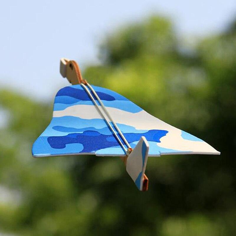 2017 12pcs Diy Hand Throw Flying Glider Planes Foam: 1PCS Hand Throw Flying Gliders Planes Foam Airplane Party