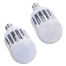 Señuelo de la Mosca de Insectos electrónicos 7 W 2835 SMD 18 LED de La Lámpara bombilla E27/B22 Anti Mosquito Killer Bombilla LED Bombilla 220 V 1000lm