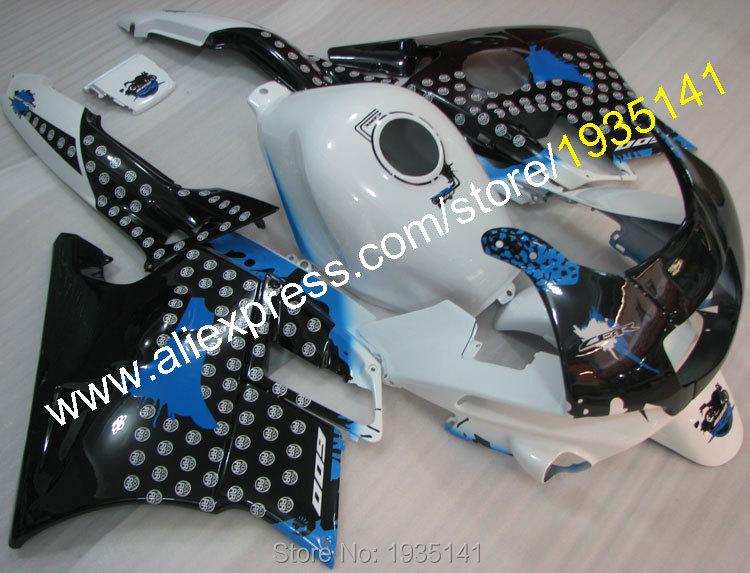 Горячие продаж,для Honda CBR600F2 1991 1992 1993 1994 ЦБР 600 Ф2 91 92 93 94 CBR600 F2 с черный белый мотоцикла ABS обтекатель полный комплект