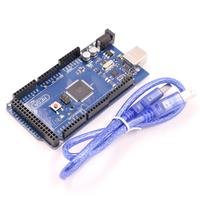 Mega 2560 R3 Mega2560 REV3 ATmega2560 16AU Board USB Cable Compatible For Arduino