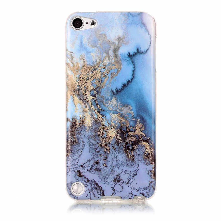 finest selection 5cb62 5ffe4 Wholesale New Mobile Phone Bags Case For Apple ipod touch 5 6 Soft TPU  Marble Stone image Painted Cover Skin For touch5 touch6