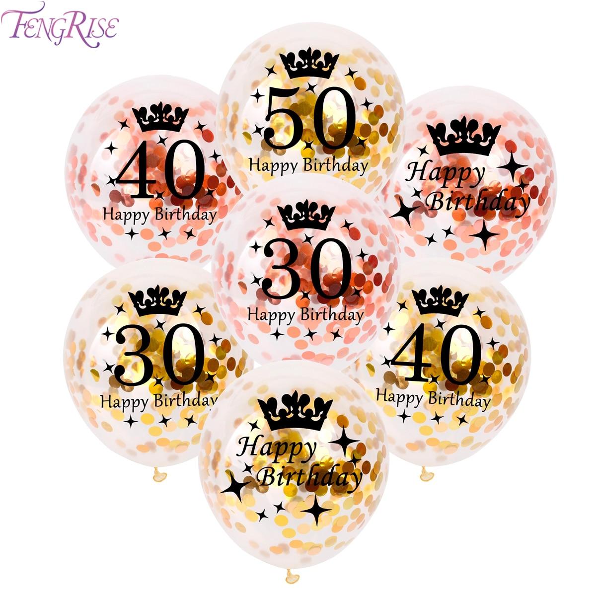 FENGRISE 12 հատ 10 հատ հատ վարդագույն ոսկե - Տոնական պարագաներ