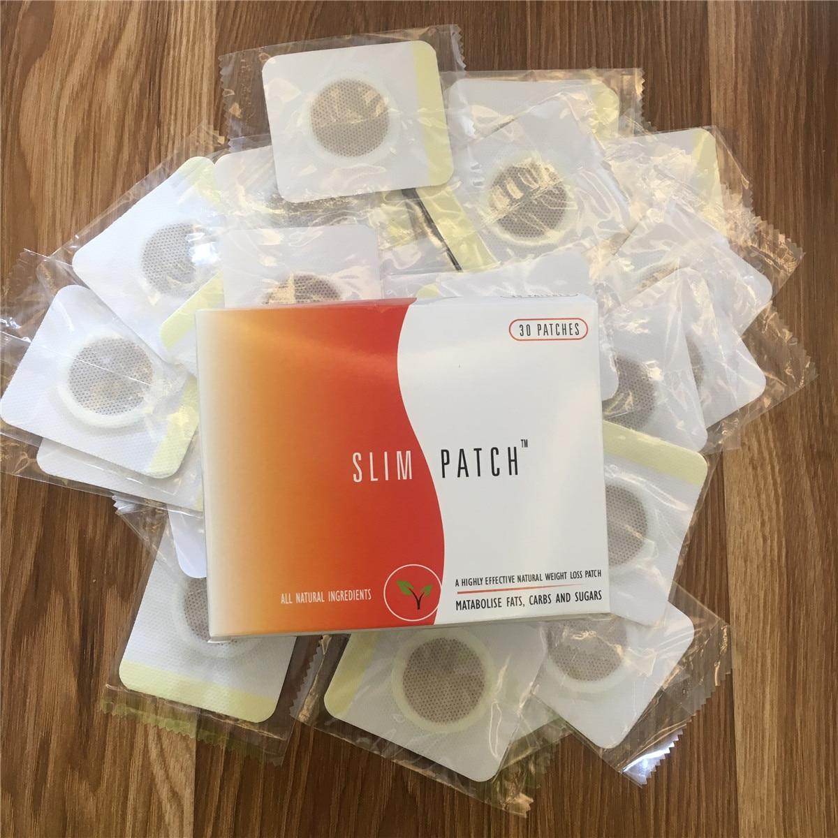 30 Pcs Traditionellen Chinesischen Medizin Abnehmen Nabel Aufkleber Dünne Patch Verlieren Gewicht Peelings & Körperbehandlungen