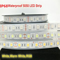 IP67/IP68 Waterproof 5050 LED Strip DC12V/24V  60 LED/M High Quality Silicon Tube Waterproof LED Strip free shipping