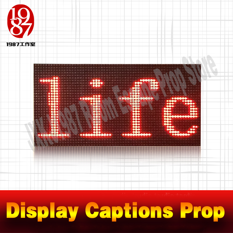 Room escape props New Arrivals Displays Captions prop to find the hidden clues from JXKJ1987 real life adventure room game prop