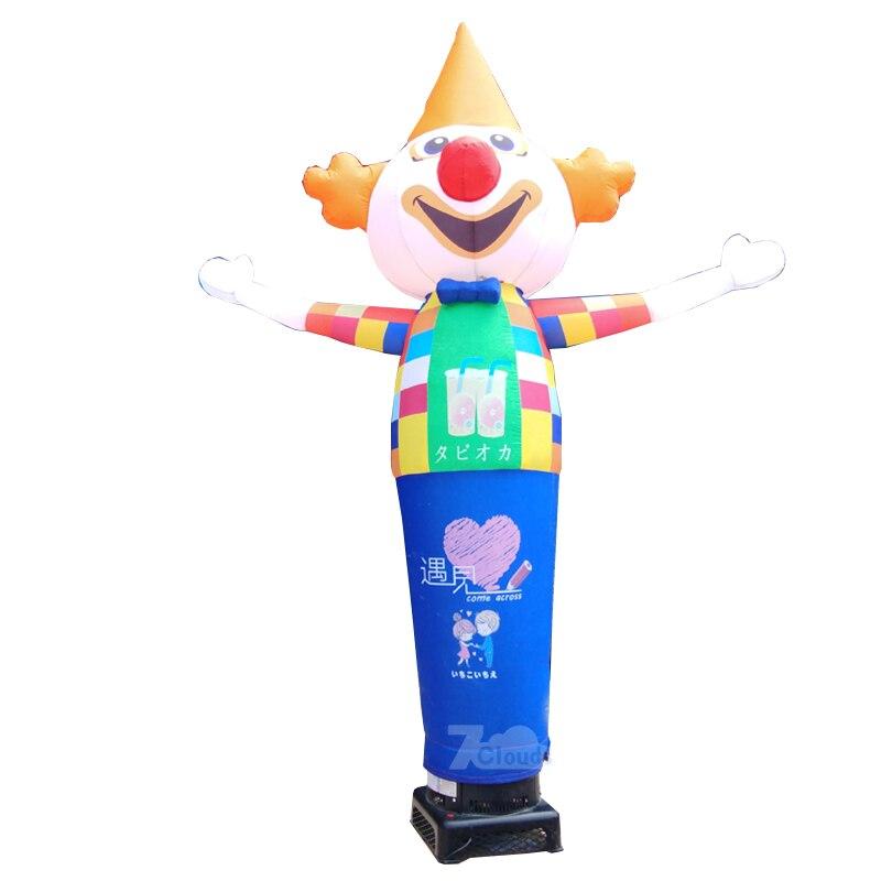 Bateau aérien libre, danseurs d'air de 10ft/3m danseur de ciel Tube gonflable homme marionnette vent volant ballons publicitaires publicitaires