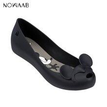 Melissa Mel Ultragirl + Minnie Mickey II 2019 Shoes For Women Flat Sandals Jelly Adult Female