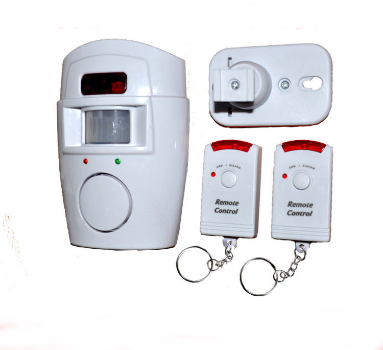 Hot selling Wireless IR Infrared Motion Sensor Alarm Security Detector Home System 2 Remote Control - AlihPark store