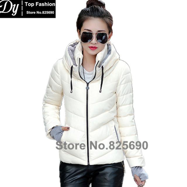 Wadded Jacket Women Cotton 2017